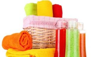 Rénovation salle de bain serviettes de couleur