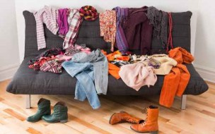 Bien ranger ses habits dans son armoire