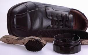Entretien du cuir chaussure
