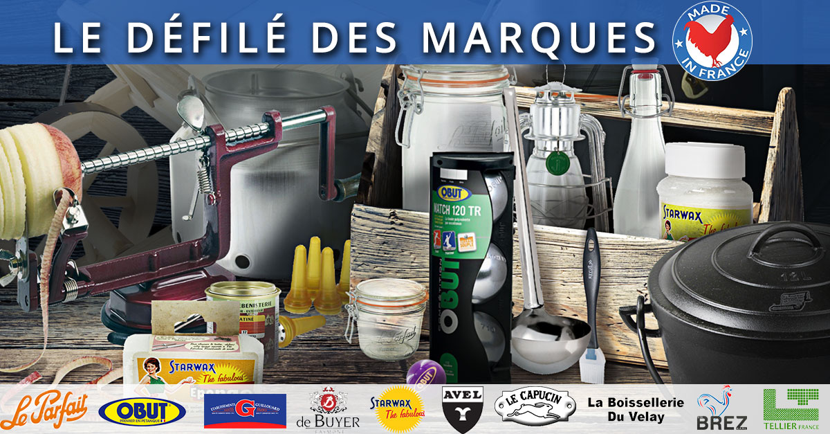 Grand jeu défilé des marques Made in France