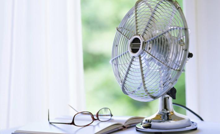 Ventilateur rafraichir été canicule lecture lunette