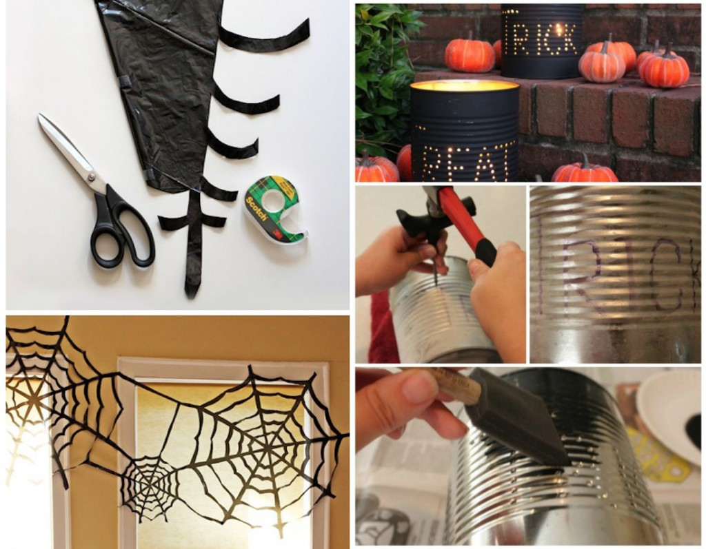 Diy nos id es de d coration pour halloween mon magasin - Halloween decoration a faire soi meme ...