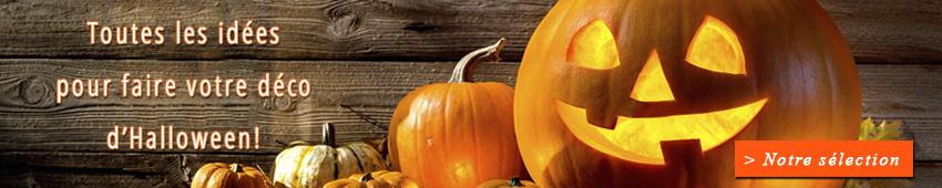 Fabriquez votre déco d'Halloween