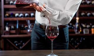 Dégustation de vin cave verre à pied carafe
