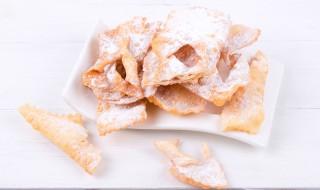 Bugnes beignets français pour mardi gras