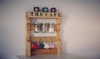 Présentoir à thé café DIY