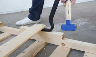 Préparer une palette pour un meuble