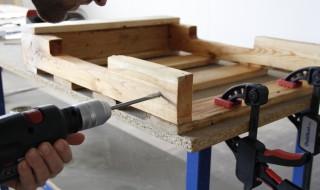 Foret à bois pour tringle