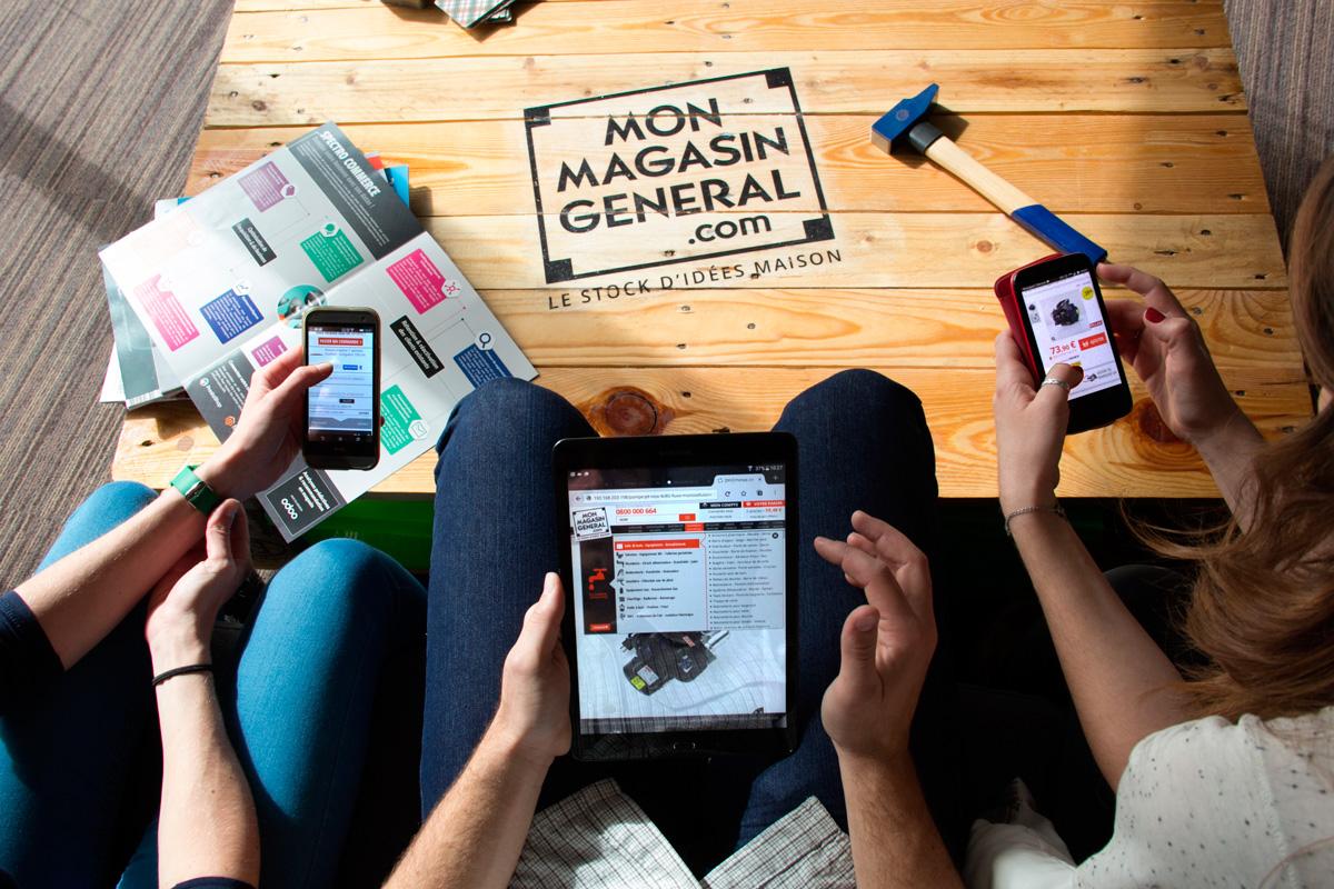 Venez decouvrir notre large gamme de produits sur votre mobile