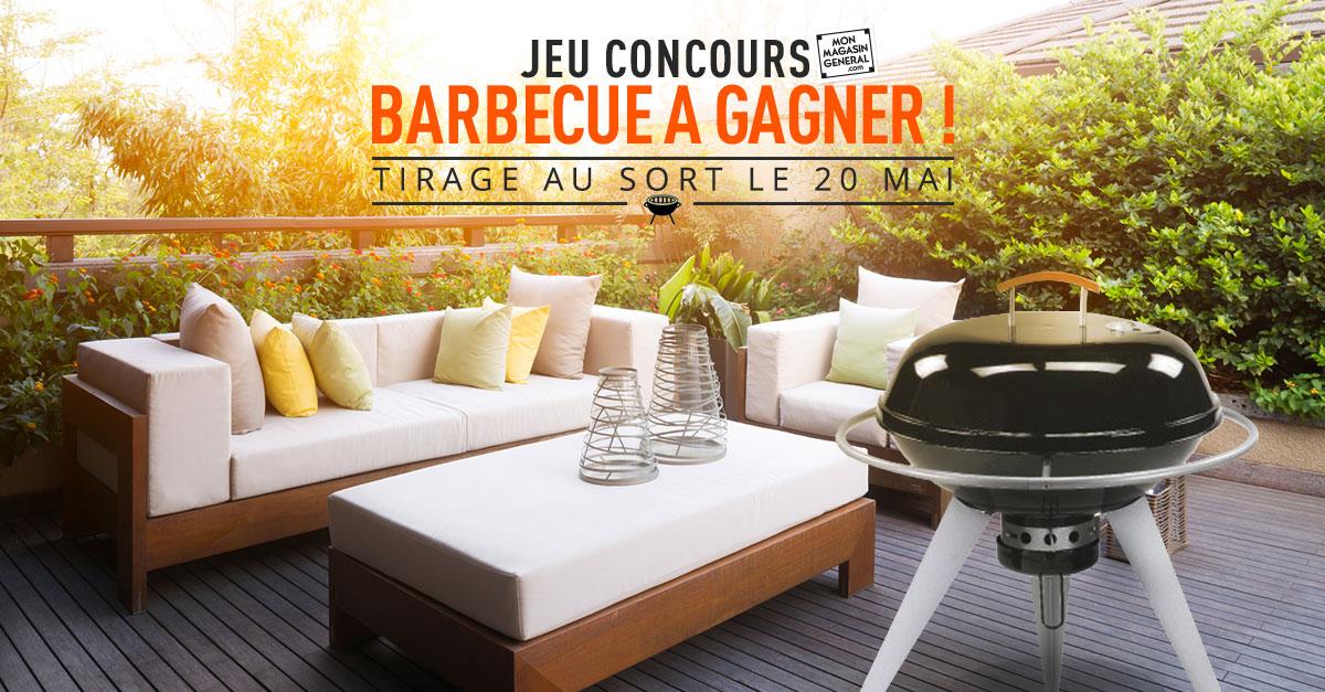 Venez gagner un magnifique barbecue