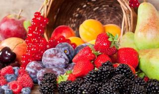 Sélection de fruits pour la confiture d'été