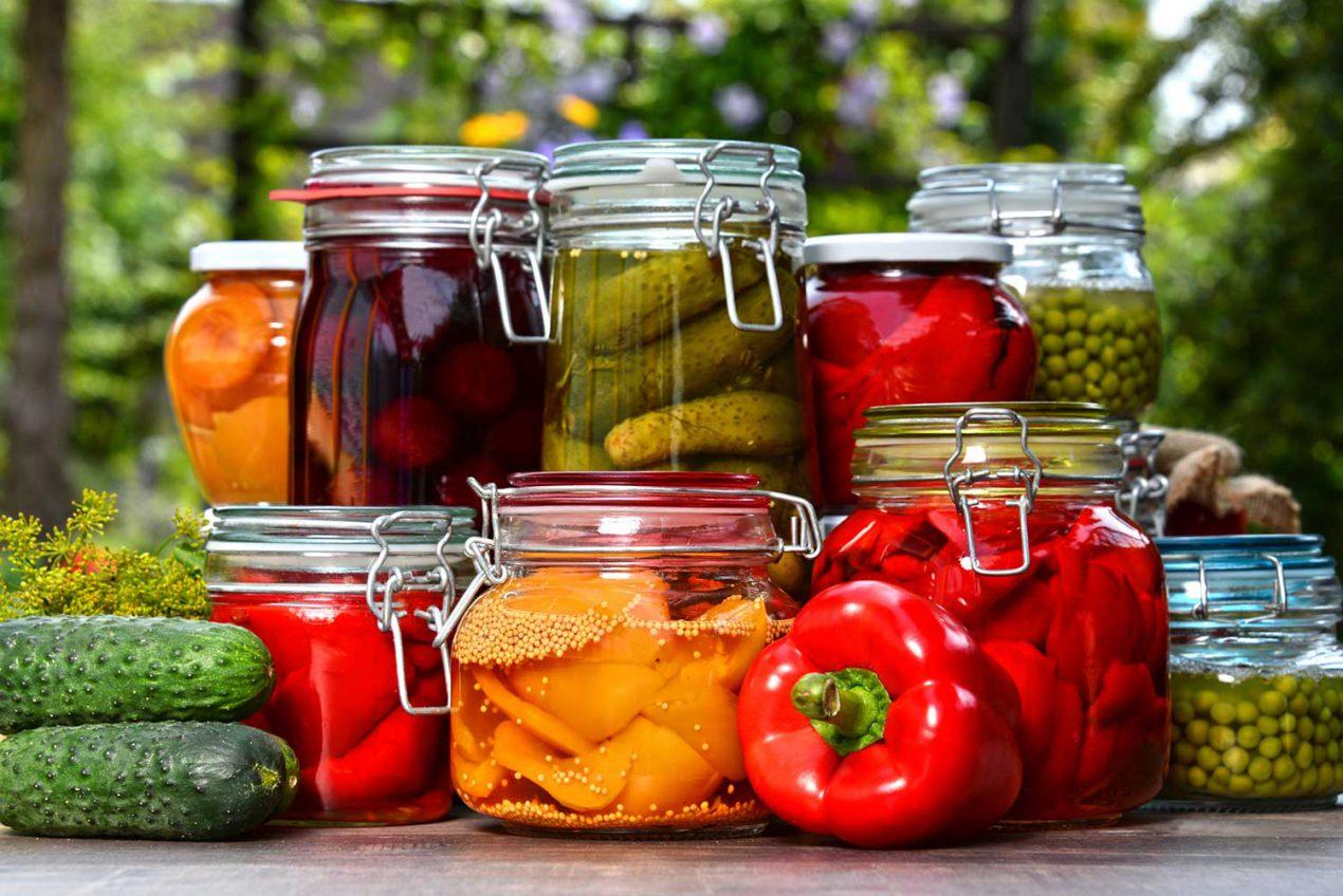Faire des conserves de légumes d'automne