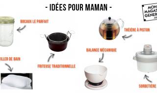 Idées de cadeaux de noel mère Mon Magasin Général