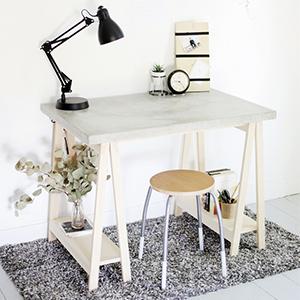 Comment faire un bureau en béton ?