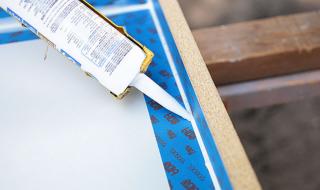 Fabriquer un bureau en béton - Le moule 2
