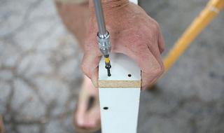 Fabriquer un bureau en béton - Le moule