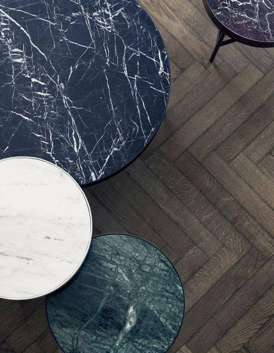 Customiser ses tables avec de l'adhésif marbre