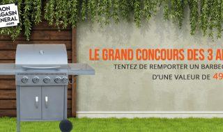Concours : gagnez un barbecue - Mon Magasin Général