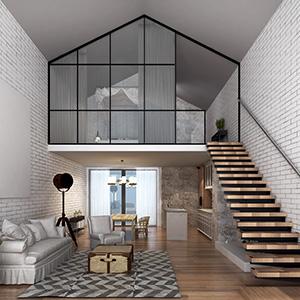 Comment installer une verrière d'atelier dans son intérieur ?