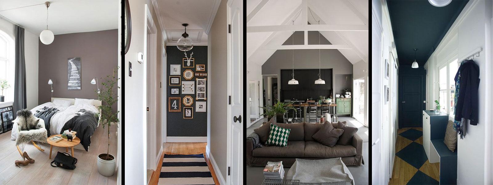 comment jouer sur les volumes d 39 une pi ce avec de la peinture. Black Bedroom Furniture Sets. Home Design Ideas