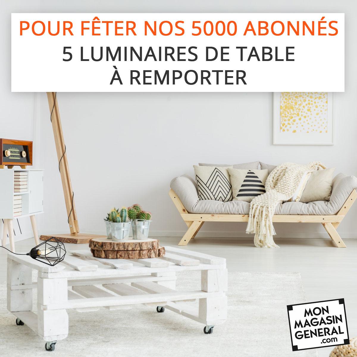Concours Instagram 5000 abonnés Mon Magasin Général