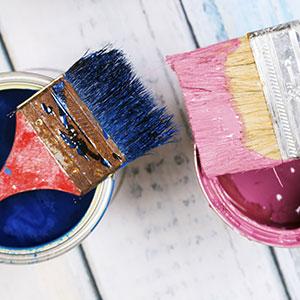 Quel pinceau choisir pour quelle surface à peindre ?