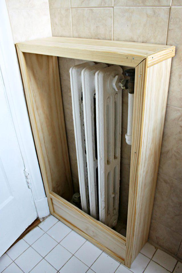 Fabriquer un cache-radiateur en bois