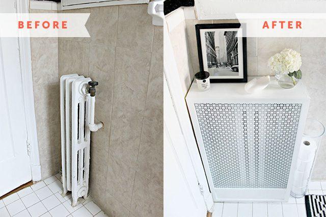 Fabriquer un cache-radiateur moderne