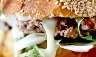 recettes de burgers maison - burger savoyard