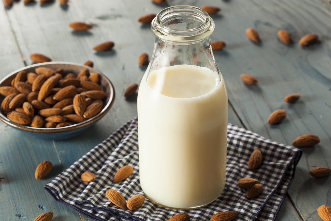 La recette de lait d'amande maison de Mon Magasin Général