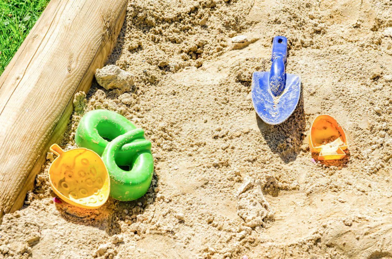 bac à sable en bois de palette par Mon Magasin Général