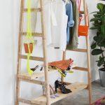 Tutoriel du vendredi : 10 idées pour fabriquer un portant à vêtements.