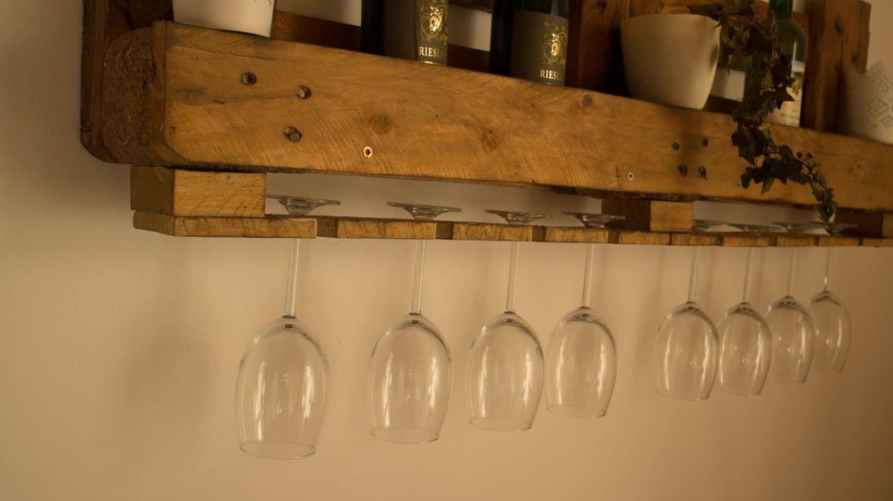 Fabriquer Un Bar En Bois fabriquer une étagère bar avec des palettes - avec mon