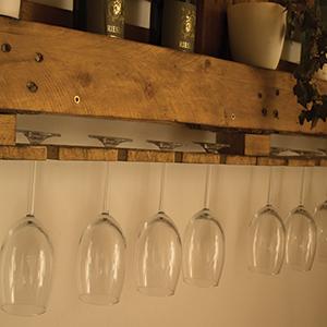 Comment fabriquer une étagère bar ?