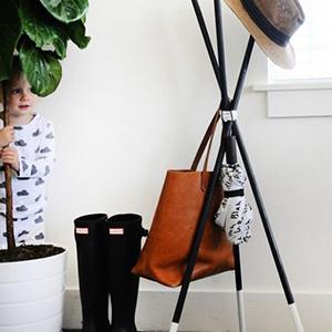 Comment fabriquer un portemanteau scandinave ?