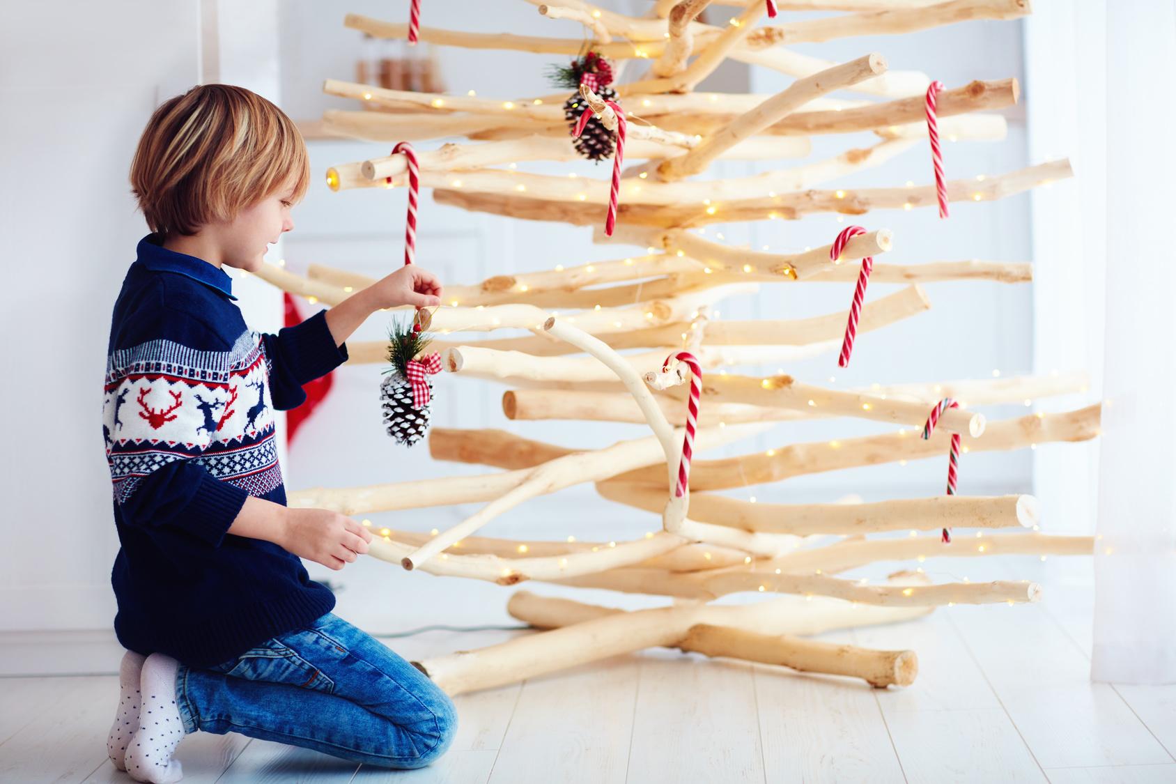 Fabriquer un sapin de Noël en bois de palette facilement