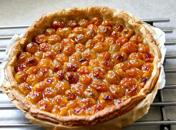 La recette de la tarte aux mirabelles alsacienne par Mon Magasin Général