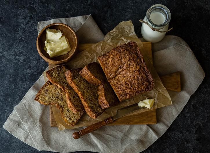 Une recette de banana bread au chocolat proposée par Mon Magasin Général