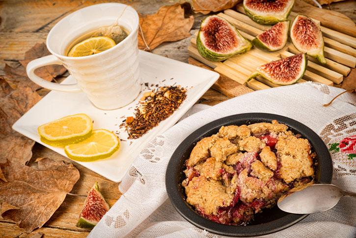 La recette du crumble figues et spéculoos