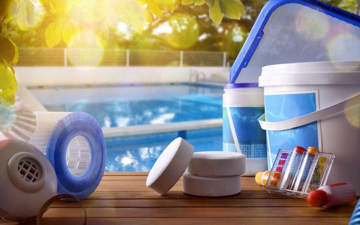 entretien de l'eau de piscine